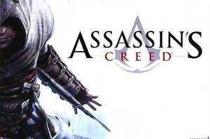 Assassin's Creed Poster on Plak Mounting