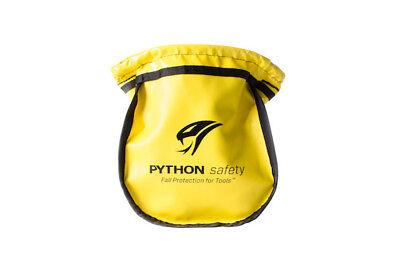 Python Safety 1500122 Small Parts Pouch Vinyl Yellow - Free Shipping