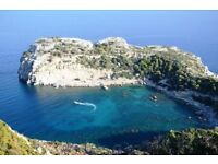 Lovely two week holiday for sale! -IGNORE THE PRICE Greece (Rhodes) for 2 weeks, Cheap.