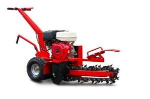 HOC DR-TR-70 - COMMERCIAL TRENCHER HONDA GX390 + BRAND NEW + 1 YEAR WARRANTY + FREE SHIPPING !!