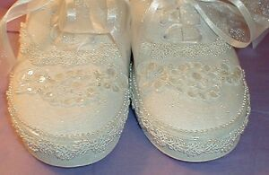 Wedding-Shoes-SNEAKERS-Custom-Lace-amp-Pearls