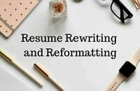 Resume and Editing Services