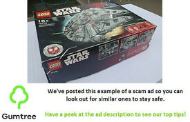LEGO Star Wars UCS Millennium Falcon 10179 - Read the description before replying to the ad!!