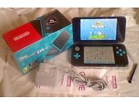 2DS XL + 64GB Mem card - Fully Boxed, Just over a week old With Receipt & over 100 Installed Games