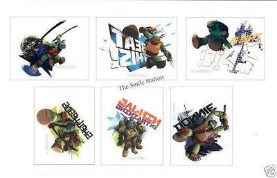 Ninja Turtle Party Supply (12 Teenage Mutant Ninja Turtle TMNT Temporary Tattoo Kid Party Bag Favor)
