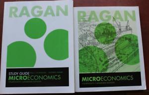 Ragan Microeconomics 14th edition Text book + Study Guide