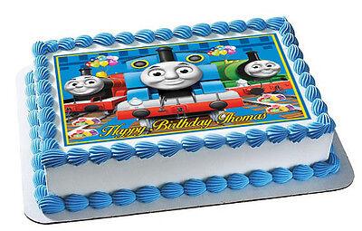 Thomas Train (Nr2) - Edible Cake Topper OR Cupcake Topper, Decor