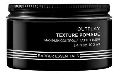 Redken Brews Outplay Texture Pomade 3.4 oz. Hair Wax & Pomad