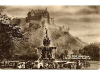 Wanted Old Postcards and Photographs of Edinburgh and Edinburgh Families