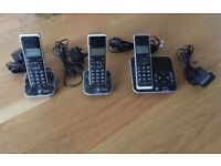 BT Xenon 1500 Triple Telephones