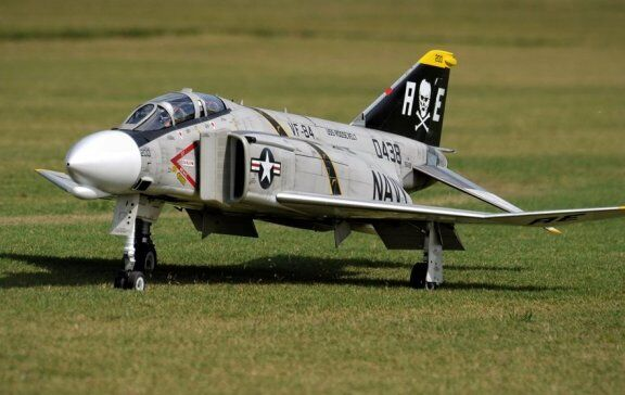F-4 Phantom  1/5 scale    Giant Scale RC AIrplane Printed Plans & Templates