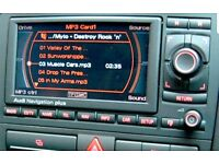 Audi A3 S3 RS3 8P RNS-E Sat Nav Plus System CD MP3 SD MMI