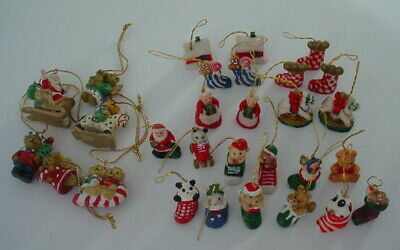 Ganz H8 Christmas Polystone Cupcake Mice Mouse Ornament 3.5in EX21637 Choose