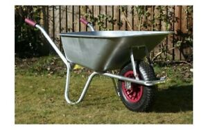 ~~ Wheelbarrow ~About 5 Cubic Feet ~ All SOLID METAL~ A1 Cond ~~