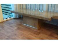 Marble coffee table in as new condition