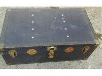 Vintage travel/storage trunk