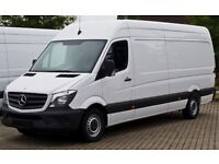 Short Notice Man & Van Hire £15P/H Removal & Courier service