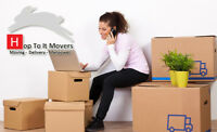 HOP TO IT MOVERS **MOVING & STORAGE** CALL>>>7809944333