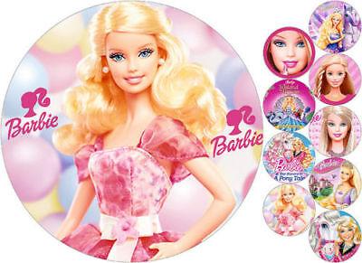 Tortenaufleger---Barbie----Geburtstag--Party--Tortenbild--Fondant //Oblate