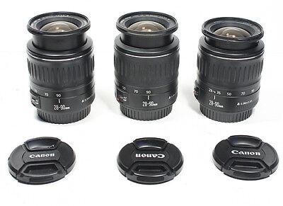 CANON EF 28-90mm III Lens for EOS 7D T6i T5i T7i SL2 80D 90D 7D 6D 5D II IV etc