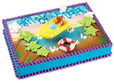 Sesame Street ELMO boating cake kit topper -HARD TO FIND!! (Hard To Find Party Supplies)