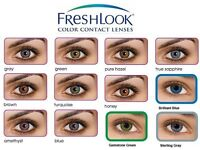 Freshlook 12 months contact lenses