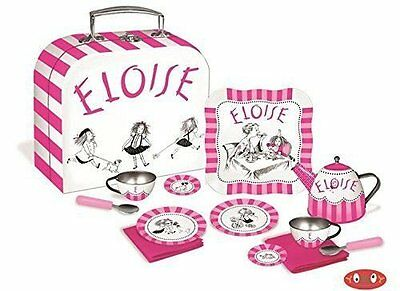 Eloise at the Plaza Tea Set from Eloise Books in Suitcase 12 Pcs