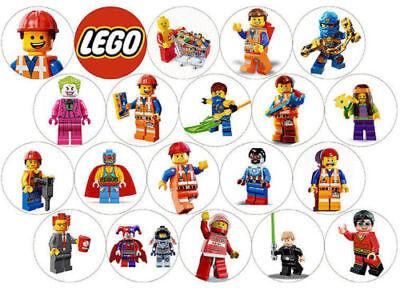 go  20 stück--Geburtstag--Party---Fondant //Oblate (Lego Geburtstags-party)