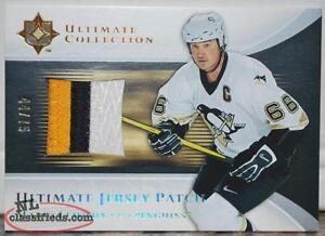 2005/06 Ultimate Collection Jersey Patch Mario Lemieux