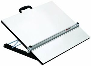 "Portable drafting board with parallel scale  48""x 36"""