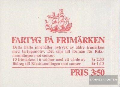 Schweden MH14 (kompl.Ausg.) postfrisch 1966 Schiffe