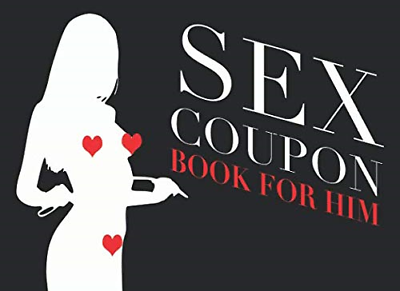 Sex Coupon  Book For Him: Love Gift For Men - Valentines Day