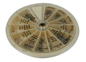 241 tlg. Set Uhrenschrauben Uhrmacher Schrauben für Uhren im Display NEU