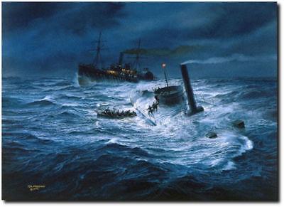 "/""Stand to Your Guns/"" Artist Proof 1805 by Tom Freeman Battle of Trafalgar"