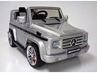 AMG G Wagen Pedal and remote control operated car.