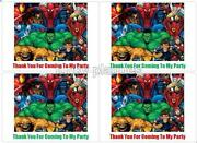 Marvel Party Bags