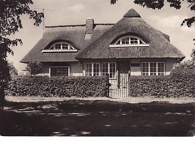 """Ostseebad Zingst / Darß , Haus """"Up friwach"""" , DDR , ungel. Ansichtskarte"""
