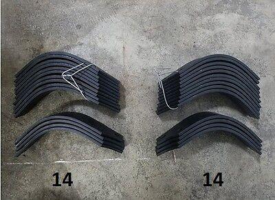 14 Each LH & RH Tines for Land Pride RTA2056-4 & RTR2056-4 # 820-057C / 820-058C
