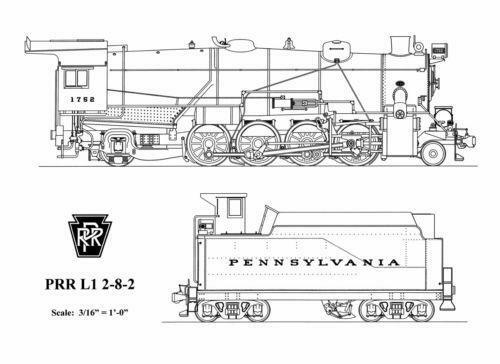Locomotive Drawing Ebay