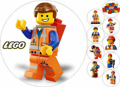 Tortenaufleger---Lego----Geburtstag--Party--Tortenbild--Fondant //Oblate