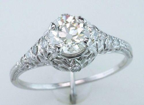 art deco wedding ring - Art Deco Wedding Rings