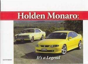 Holden Monaro: Its A Legend by Gavin Farmer Blacktown Blacktown Area Preview