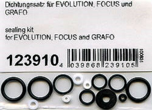 Harder & Steenbeck Complete Sealing Kit for Evolution and Grafo 123910