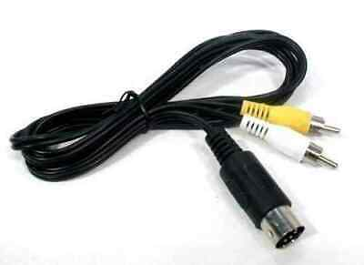 Cable RCA AV Mega Drive 1 / Master System 1 (Nuevo)