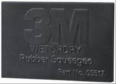 3m 05517 3m Wetordry Rubber Squeegee 05517 2 34 In X 4 14 In