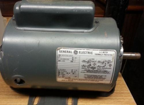 Used Electric Motors 1 Hp Ebay
