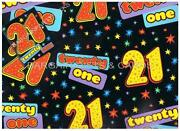 21st Wrapping Paper