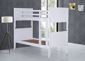 Solid chunky, pure white, Bunk bed, Single, Thick, Firm, Mattress, changes single beds, bargain,