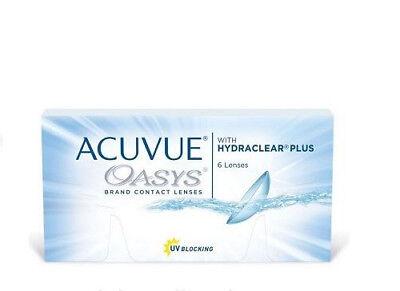 Acuvue Oasys 1 x 6 Kontaktlinsen,  2-Wochenlinsen  NEU! BC 8.4 oder 8.8