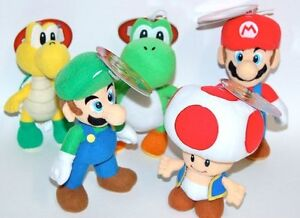 Together-Plus-Soft-toy-Plush-24-cm-Range-MARIO-YOSHI-TOAD-KOOPA-TROOPA-LUIGI